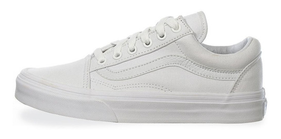 Tenis Vans Old Skool - 0d3hw00 - Blanco - Unisex