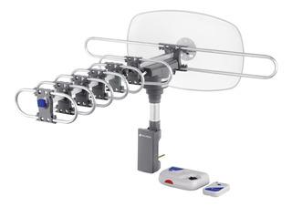 Antena Aérea Para Tv Giratoria 360° Con Cable Volteck 48114