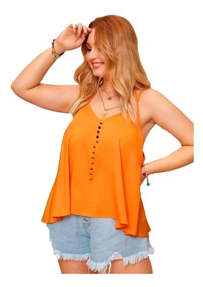 Blusa Musculosa Shein Plus Cami Top 2x 3x