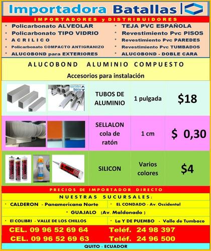 Imagen 1 de 10 de Cable De Acero Y Grilletes Galvanizad Tuberia Alucobond Ca1