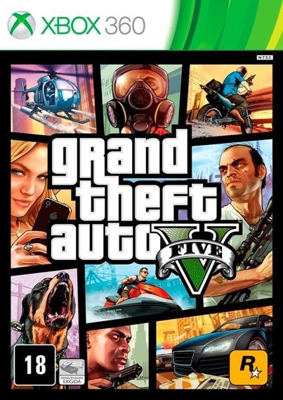 Gta V Para Xbox 360 Novo Lacrado Mídia Física Em Português