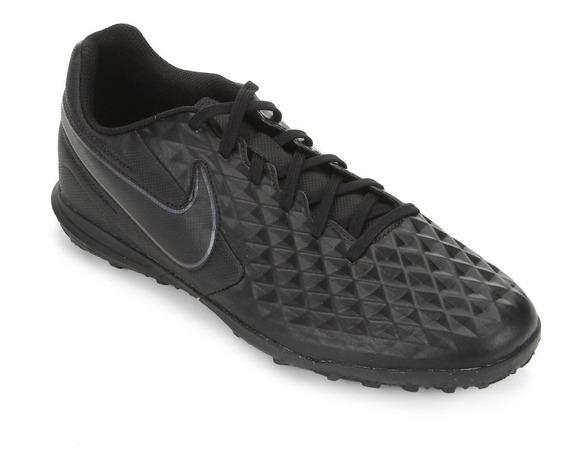 Chuteira Nike Tiempo Legend 8 Club - Society - Preto
