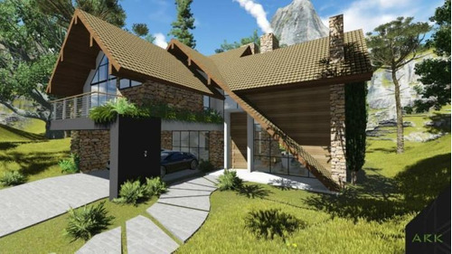 Casa 04 Dorm. - Bairro Aspen Mountain - C403632