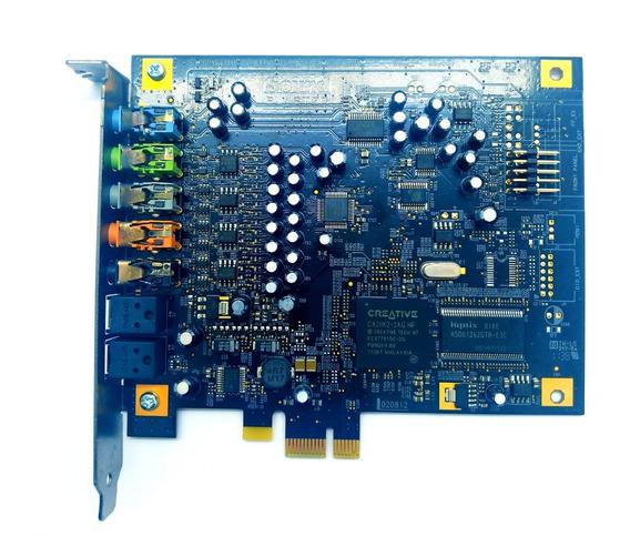 Placa Som Creative Blaster X-fi Tianium / Pci´e 7.1 Sb0880