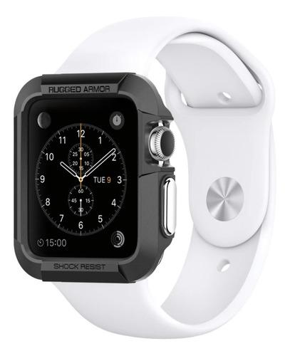 Apple Watch Spigen Rugged Armor Carcasa Series 1 2 3 38 42mm