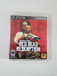Juego Ps3 Fisico Red Dead Redemption En Muy Estado.