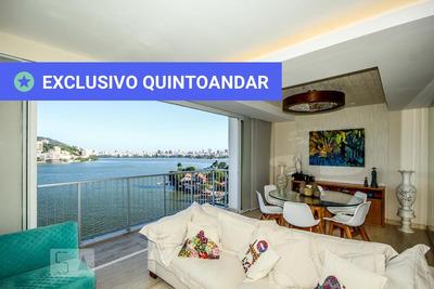 Apartamento No 8º Andar Mobiliado Com 3 Dormitórios E 2 Garagens - Id: 892855380 - 155380