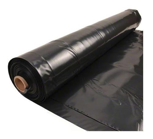 Rollo De Plástico De Ferreteria Negro  2 Metros Lineales