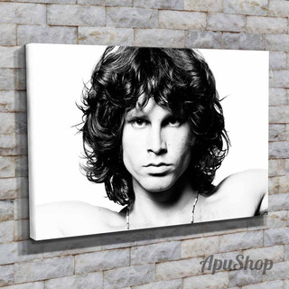 Cuadros Lienzo 60x40 Jim Morrison Músico Rock The Doors