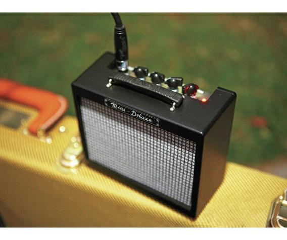 Mini Amplificador Fender Mini Deluxe Amp Novo + Nf!