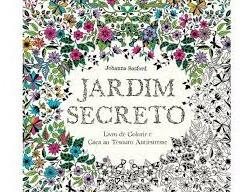 Jardim Secreto - Livro De Colorir E Caça Johanna Basford