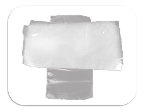 100 Bolsas Plástico Transparentes Ancho 20, Alto-33 Cm