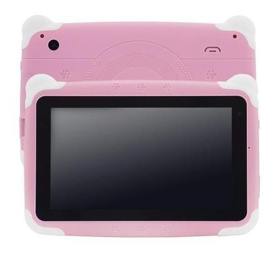 Tablet Dub Smartpad Pro 7 Kids 16gb Rosa E Branco