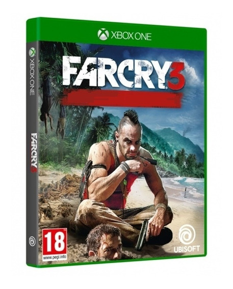 Jogo Far Cry 3 Xbox One Disco Físico Game Lacrado Original