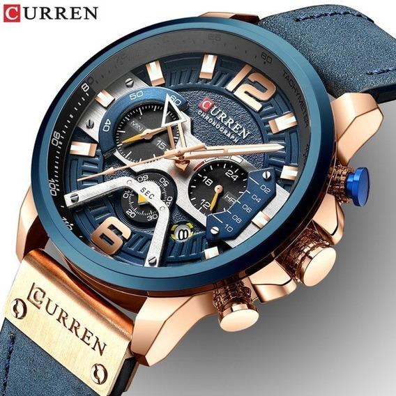 Relógio Curren Original - Promoção De Lançamento