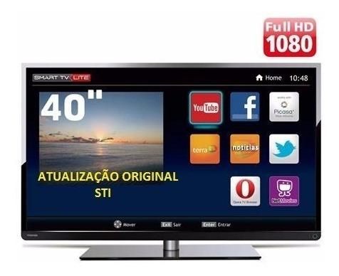 Atualização De Software/firmware Tv Led Semp Toshiba 40l2400