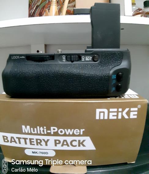 Gripe De Bateria Para Câmara Canon