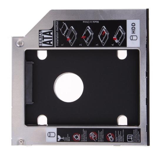 Adaptador Dvd Para Hd Ssd Notebook Drive Caddy 12.7mm Com Nf