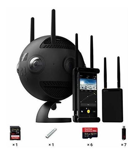Camara De Realidad Virtual Esferica Insta360 Pro Ii 8k De