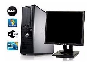Computador Completo + Monitor 17 Lcd E Wi-fi