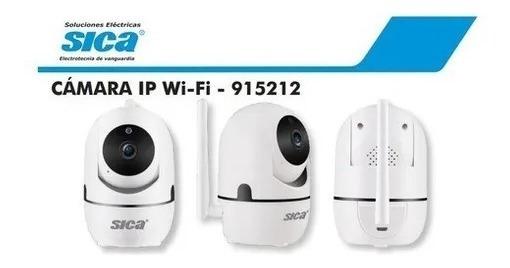Camara De Seguridad Ip Móvil Wifi Vision Nocturna Sica