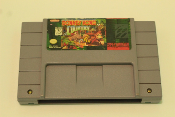 Donkey Kong 100% Original Americano Para Super Nintendo Snes