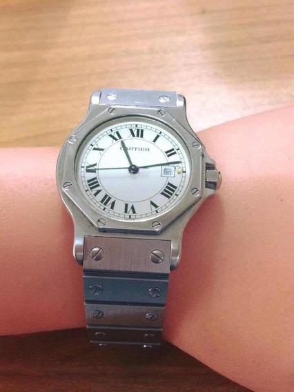 Reloj Santos Cartier Octágono