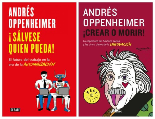 Pack Oppenheimer Grande Y Bolsillo - 2 Libros