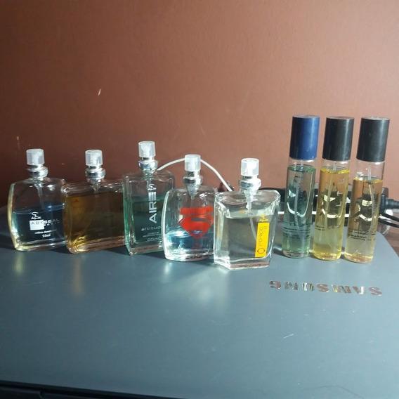 Kit 8 Perfumes Jequiti Masculino Fragrâncias Diversas