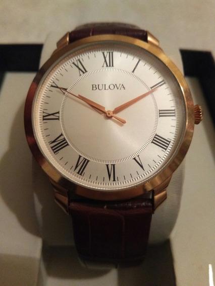 Reloj Bulova De Cuarzo Hombres