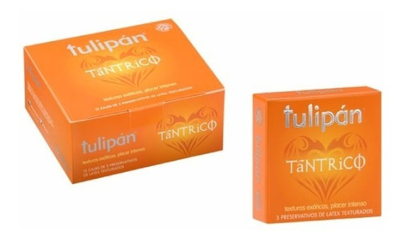 Tulipán - Preservativos Tántrico X 12 Cajitas X 3 Un.