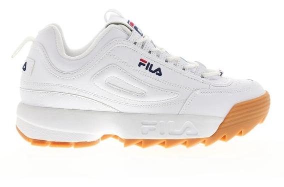 Tenis Fila Disruptor 2 Premium Blanco/liga 1fm00145 161