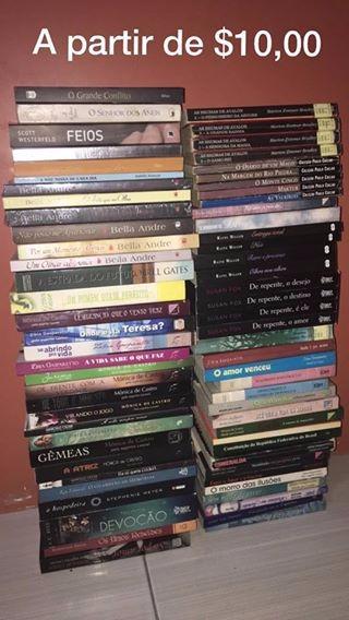 Livros - Literatura Estrangeira E Nacional