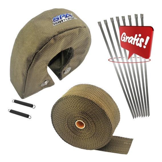 Capa Protetor Térmico De Turbina + Fita Titanium 2 X10m