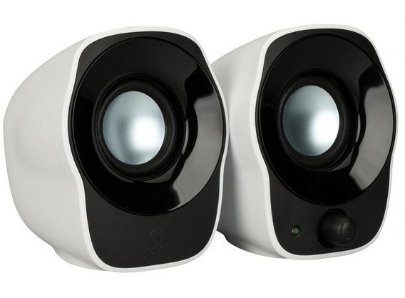 Caixa Acústica Logitech 2w Rms Preta Z120