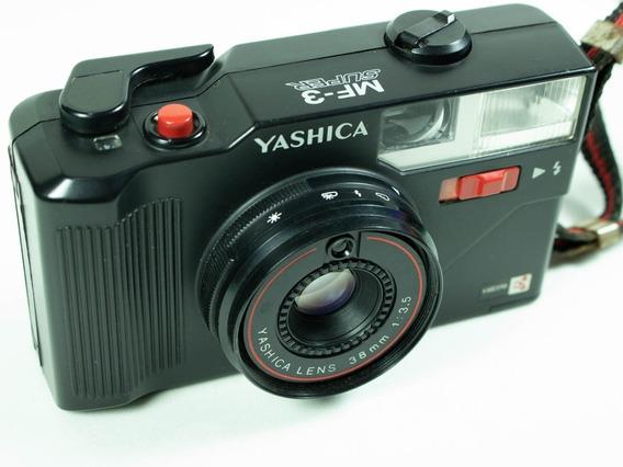 Câmera Fotográfica Analógica Yashica Mf 3 Super
