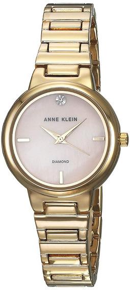 Anne Klein Reloj Classic Mujer Ak-2440pmgb