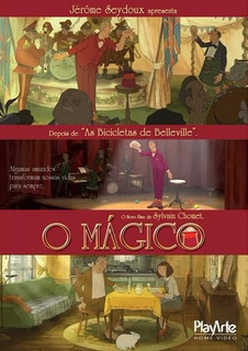 O Mágico - Dvd - Sylvain Chomet - Roteiro De Jacques Tati