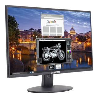 Monitor Ultra Delgado De 75hz 1080p Led 2x Hdmi Vga