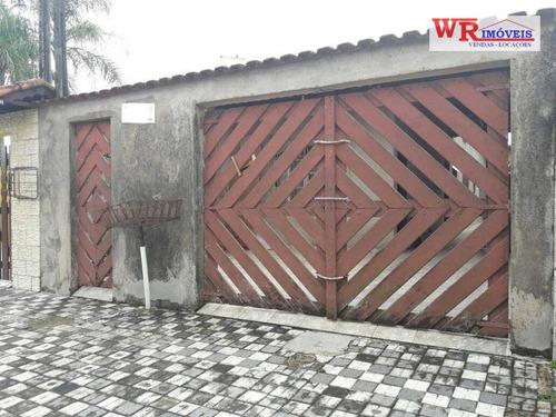 Imagem 1 de 22 de Casa À Venda, 68 M² Por R$ 215.000,00 - Jardim Praia Grande - Mongaguá/sp - Ca0355