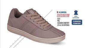Tenis K-swiss Original Cklass P/dama 634-16 Pv-2019 Yoli
