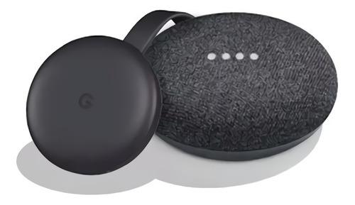Kit Google Home Mini Y Chromecast 3ra Gen Smart Tv Domotica