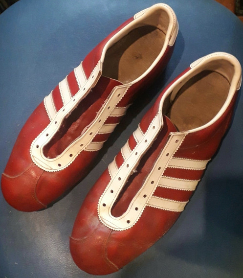 Antigua Original Zapatilla adidas Cuero Made In Austria 1970