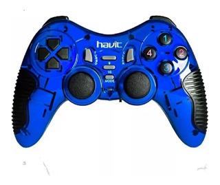 Gamepad Usb Pc Dualshock Havit Hv-g85 Vibracion Joystick