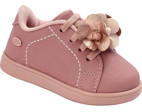 Tênis Bebê Mini Gloss Flores