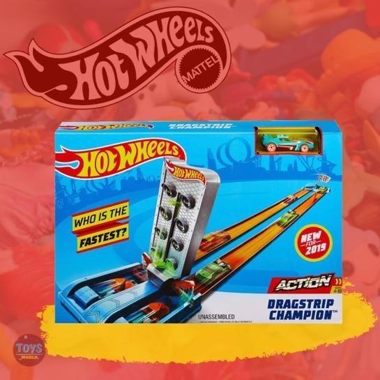 Pista Hotwheels Dragstrip Champion Original