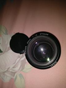 Lente Nikon Nikkor 50mm 1.2 Ais
