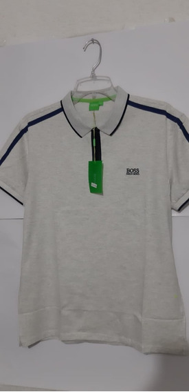 Playera Polo Hugo Boss Color Arena Para Hombre