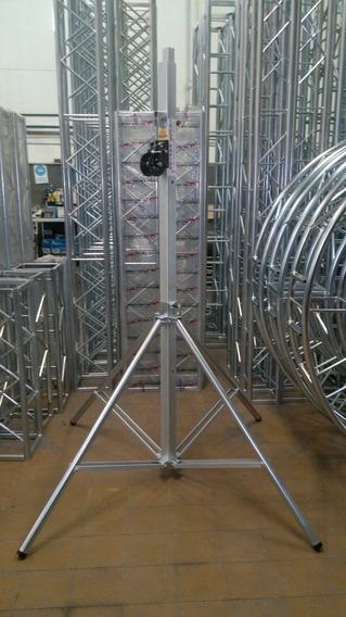 Tripode Telescopico 4mts 120kg, Malacate,geni,led