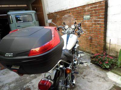 Bagageiro E Baúleto Yamaha Virago 1100